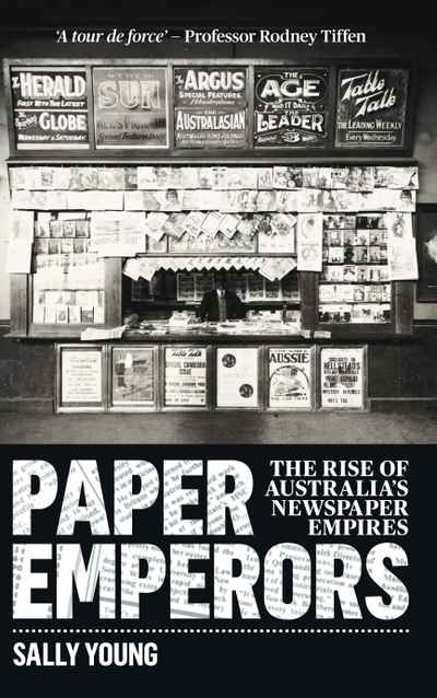 Paper Emperors  by Sally Young - 9781742234984