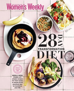 The 28 Day Transformation Diet  by The Australian Women's Weekly - 9781925865011
