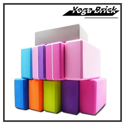 Colorful Yoga Blocks - FitandSpired