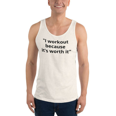 ''Fitandspired'' - Men's Printed Sleeveless Tank Top - FitandSpired
