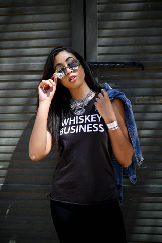 Whiskey Business Muscle Te by Chaser - Thought Process Boutique 3