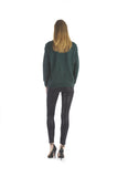 Emerald Sweater by J.O.A. - Thought Process Boutique  - 4