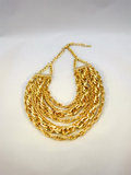 Heavy Metal Gold Necklace - Thought Process Boutique