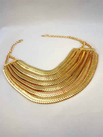 Too Many Lanes Necklace - Thought Process Boutique