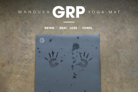 GRP Yoga Mat specially designed for hot yoga practice - Manduka | Eco Yoga Store
