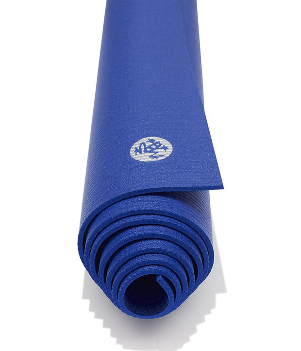 Manduka PROLite 5mm - Surf - rolled end on | Eco Yoga Store