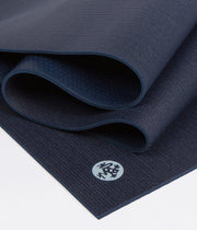 Manduka PROLite 5mm - Midnight - folded | Eco Yoga Store
