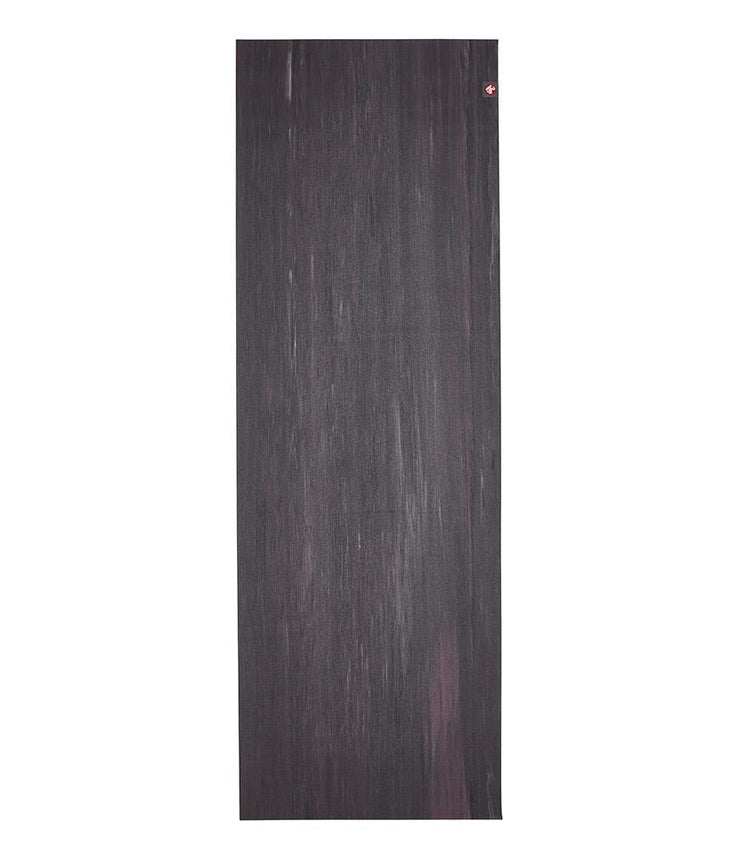 Manduka eKO Superlite 1.5mm Yoga Mat - Black Amethyst Marbled - unfurled | Eco Yoga Store