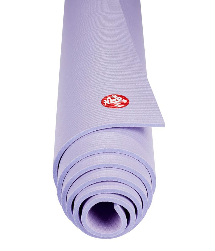 Manduka PRO 6mm Yoga Mat - Cosmic Sky - rolled end on | Eco Yoga Store