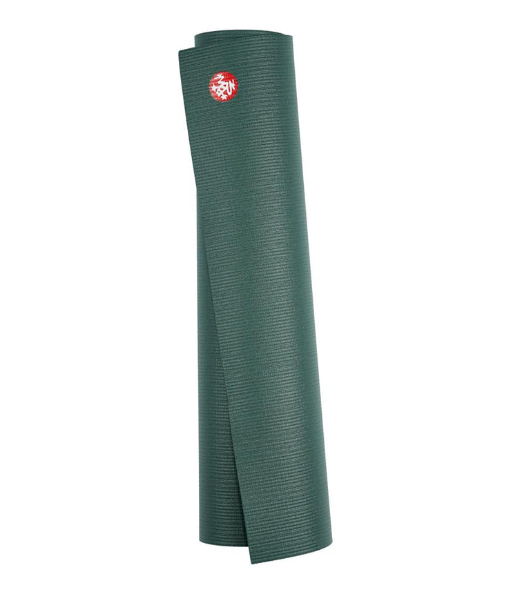 Manduka PRO 6mm Yoga Mat - Sage - rolled vertical | Eco Yoga Store