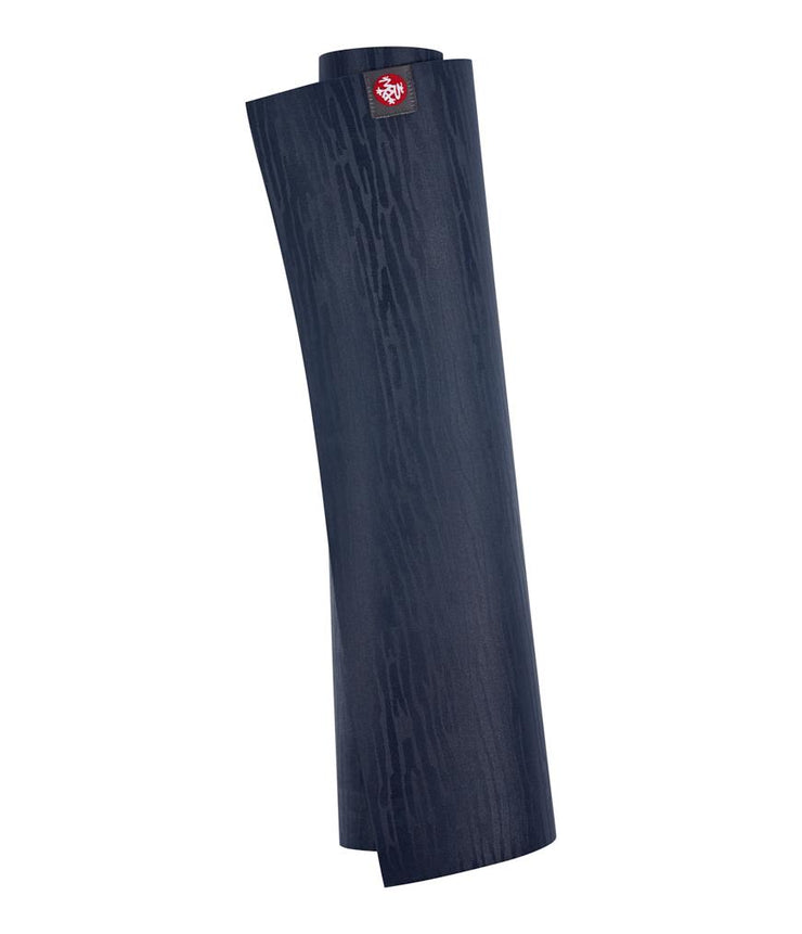 Manduka eKOLite 4mm Yoga Mat - Midnight - rolled | Eco Yoga Store