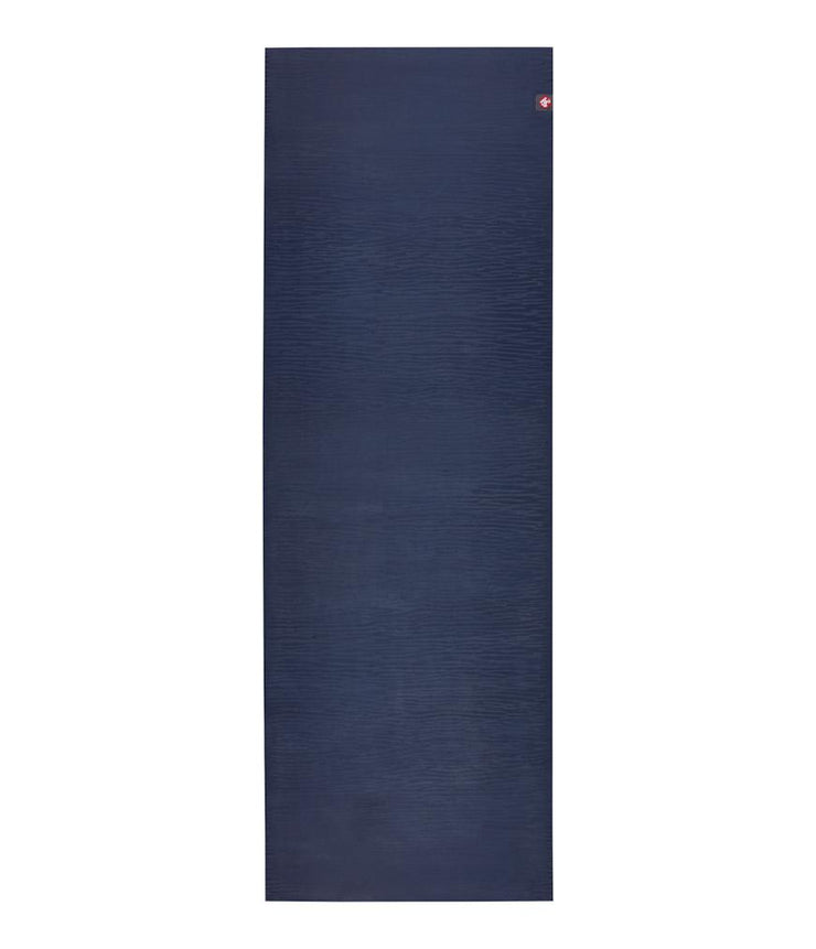 Manduka eKOLite 4mm Yoga Mat - Midnight - unfurled | Eco Yoga Store
