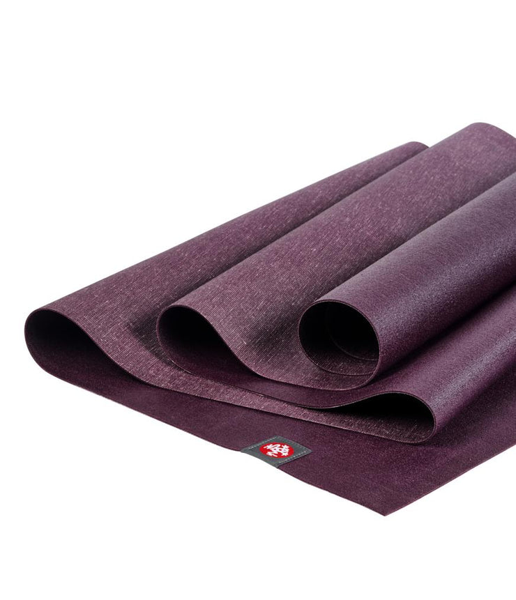 Manduka eKO Superlite 1.5mm Yoga Mat - Acai -folded | Eco Yoga Store