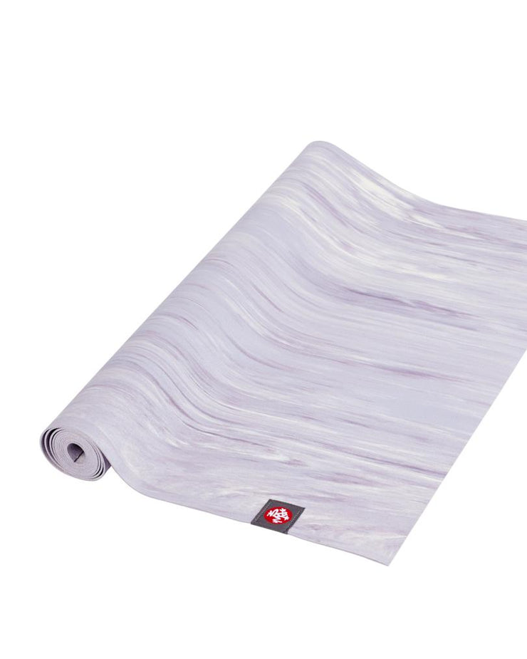 Manduka eKO Superlite 1.5mm Yoga Mat - Cosmic Sky Marbled - part rolled | Eco Yoga Store