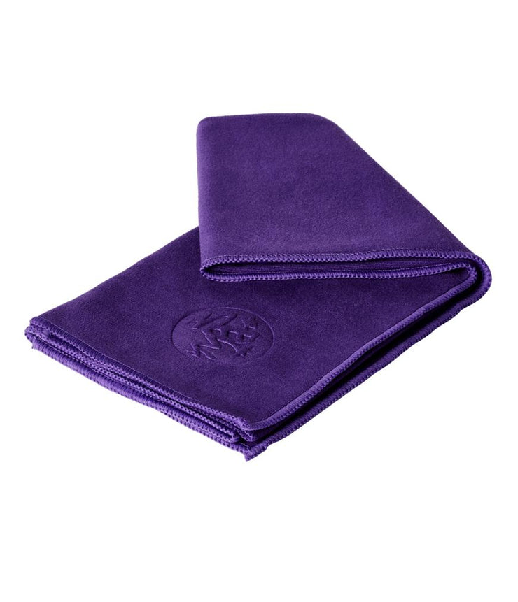 Manduka eQua Hand Towel - Magic - folded | Eco Yoga Store