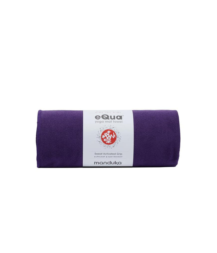 Manduka eQua Mat Towel - Magic - rolled | Eco Yoga Store