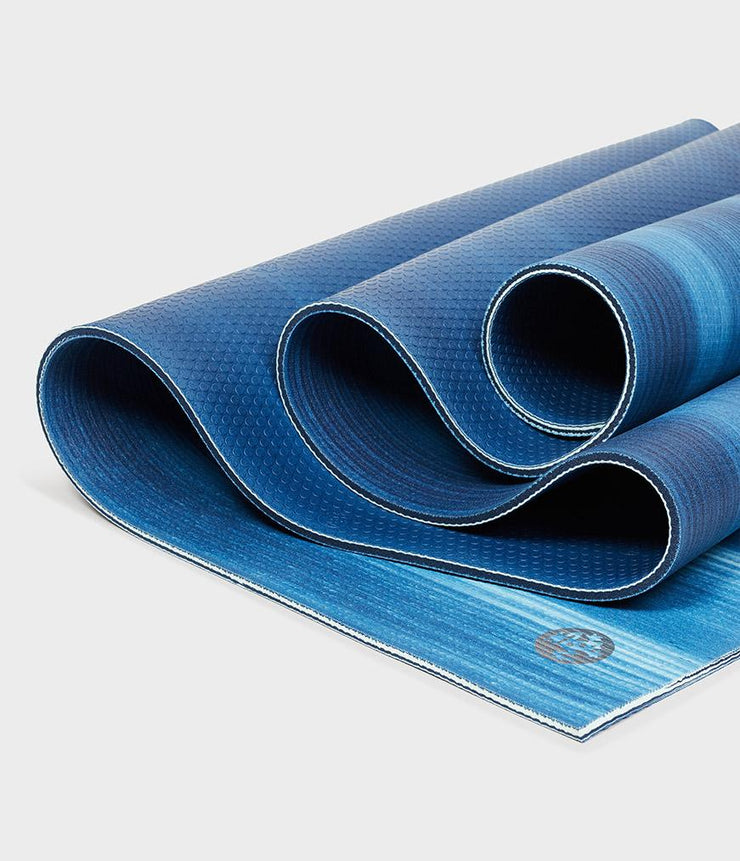 Manduka PRO 6mm Yoga Mat - Sea Foam Colour Field - folded | Eco Yoga Store