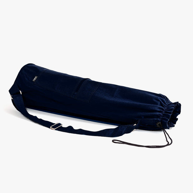 TRIBE Carry On Yoga Mat Bag - Navy | Eco Yoga Store