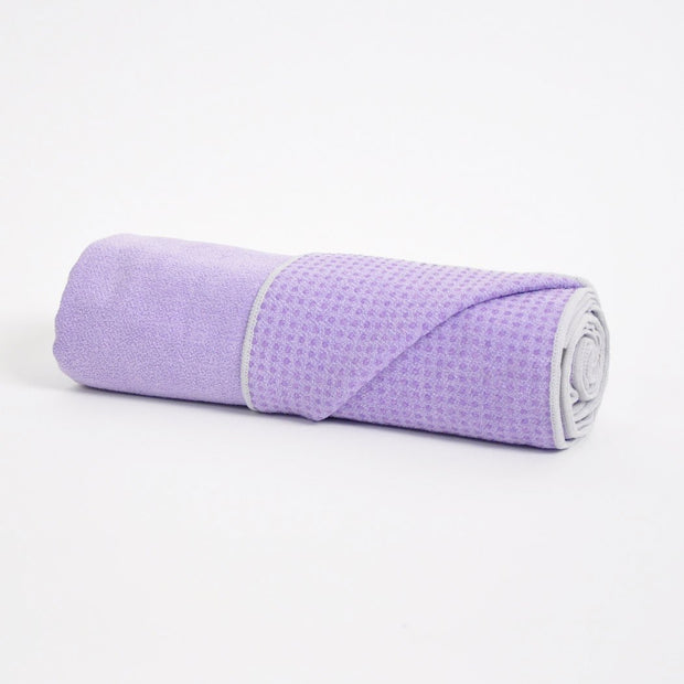 TRIBE Get a Grip Towel - Lilac | Eco Yoga Store