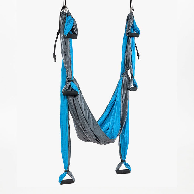 Aerial Yoga Swing - Turquoise - suspended - TRIBE | Eco Yoga Store