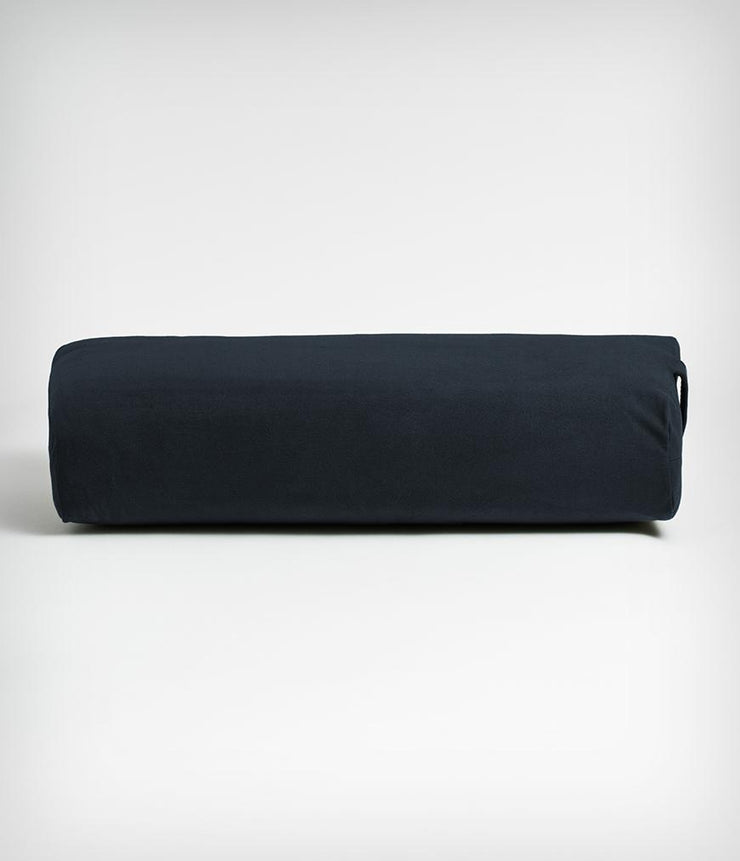 Manduka Enlight Rectangular Bolster - Thunder - face on | Eco Yoga Store