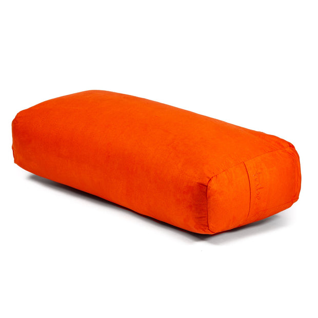 TRIBE Rectangular Bolster - Mandarin - 45 degrees angle | Eco Yoga Store