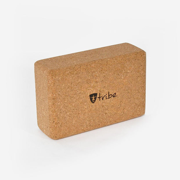 TRIBE Cork Block Slim horizontal | Eco Yoga Store