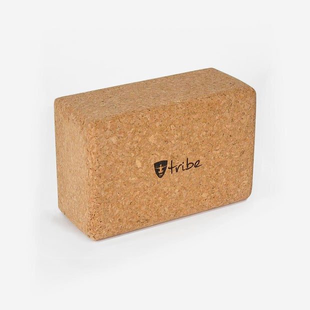 TRIBE Cork Block Standard horizontal | Eco Yoga Store