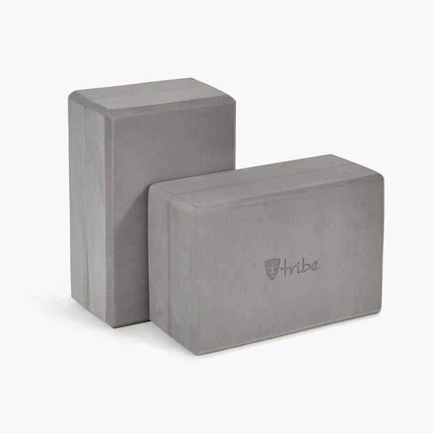 TRIBE Foam Blocks Standard - one vertical & one horizontal | Eco Yoga Store