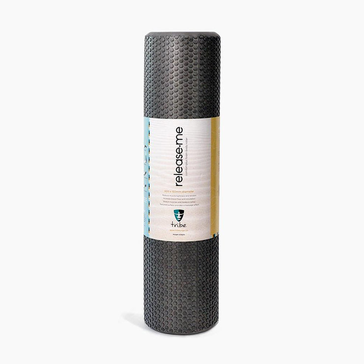 TRIBE Foam Body Roller wrapped | Eco Yoga Store