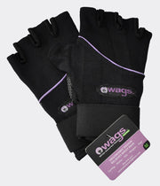 WAGS Wrist Support Gloves - Ultra - Black - Medium | Eco Yoga Store
