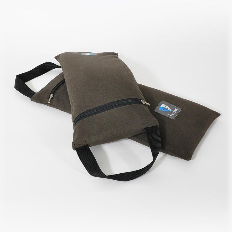 TRIBE Sand Bag - pair - one on top of the other | Eco Yoga Store