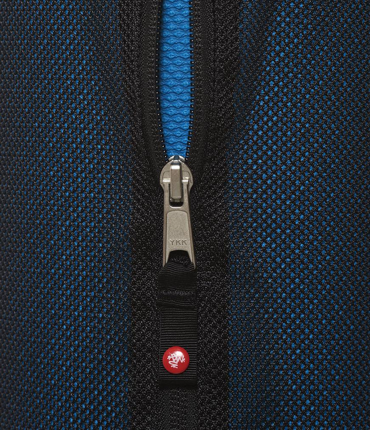 Manduka Breathe Easy Yoga Mat Bag - Black - zip | Eco Yoga Store