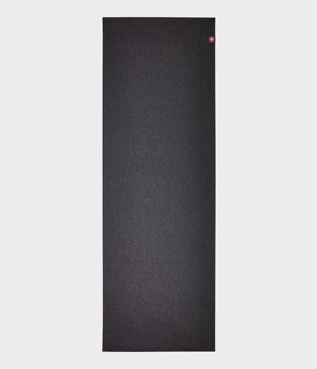 Manduka eKO Superlite 1.5mm Yoga Mat - Black - lying flat | Eco Yoga Store