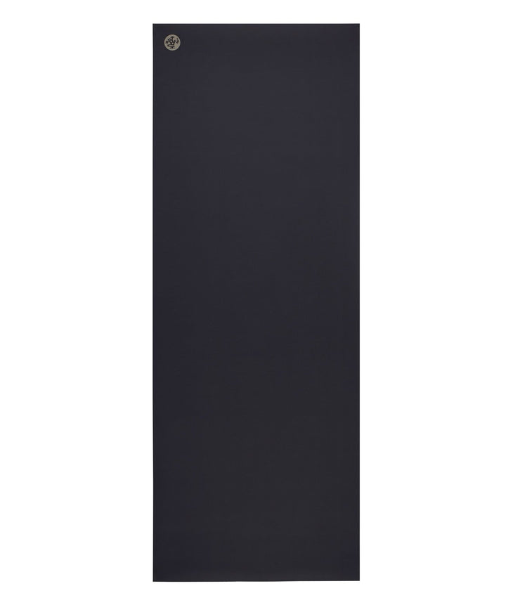 Manduka GRP Lite 4mm Hot Yoga Mat - Midnight - unfurled | Eco Yoga Store
