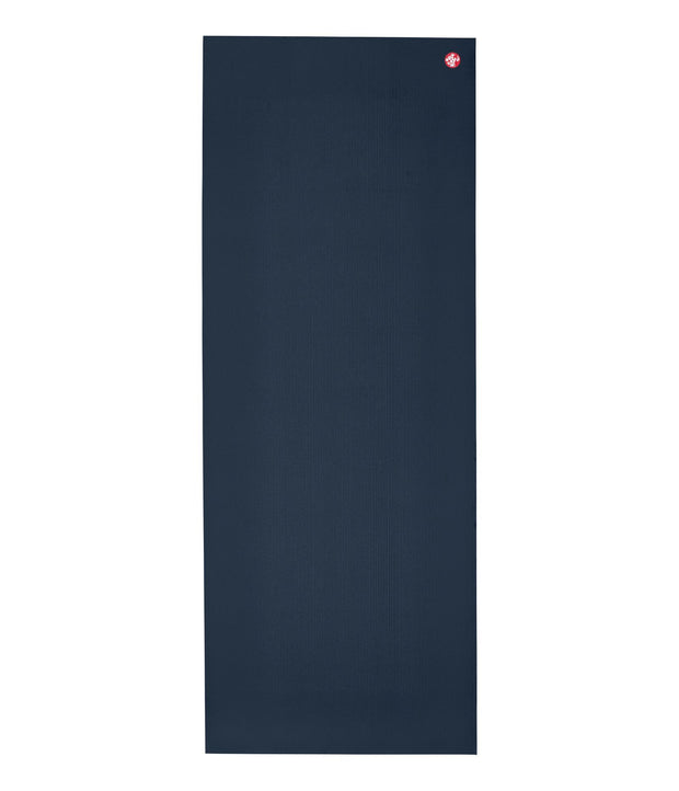 Manduka PRO 6mm Yoga Mat - Midnight - unfurled | Eco Yoga Store