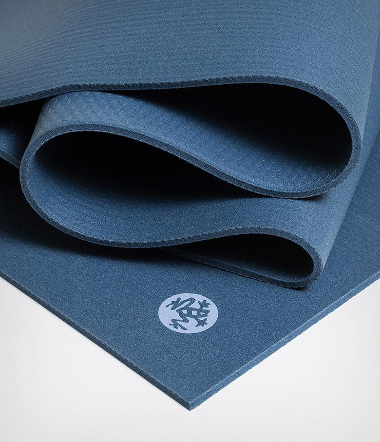 Manduka PRO 6mm Extra Long - Odyssey - folded | Eco Yoga Store