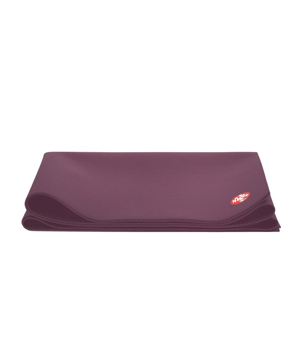 Manduka PRO Travel 2.5mm Yoga Mat - Indulge - folded | Eco Yoga Store