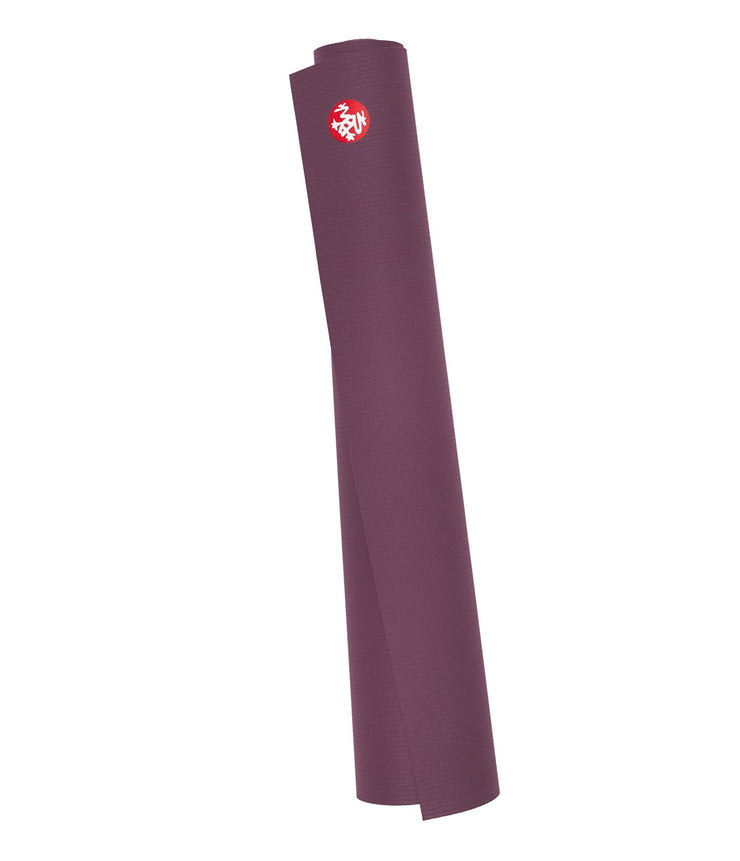 Manduka PRO Travel 2.5mm Yoga Mat - Indulge - rolled | Eco Yoga Store