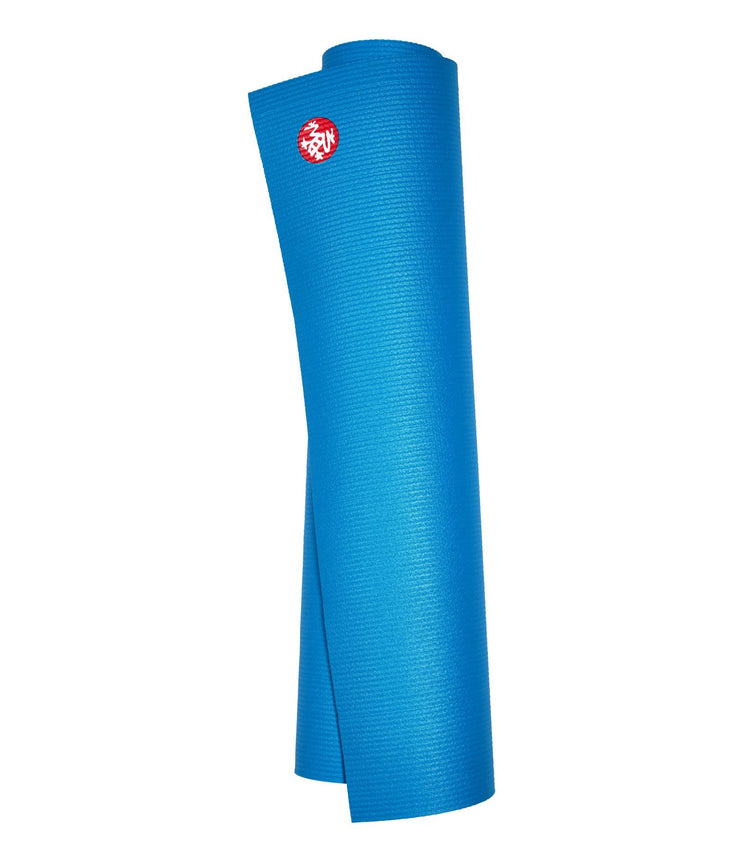 Manduka PROLite 5mm - Dresden Blue - rolled vertical | Eco Yoga Store