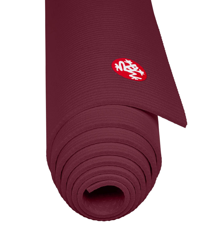 Manduka PROLite 5mm - Verve - rolled end on | Eco Yoga Store