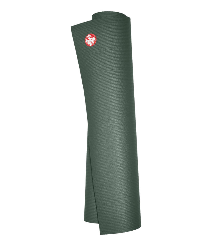 Manduka PROLite 5mm - Sage - rolled vertical | Eco Yoga Store