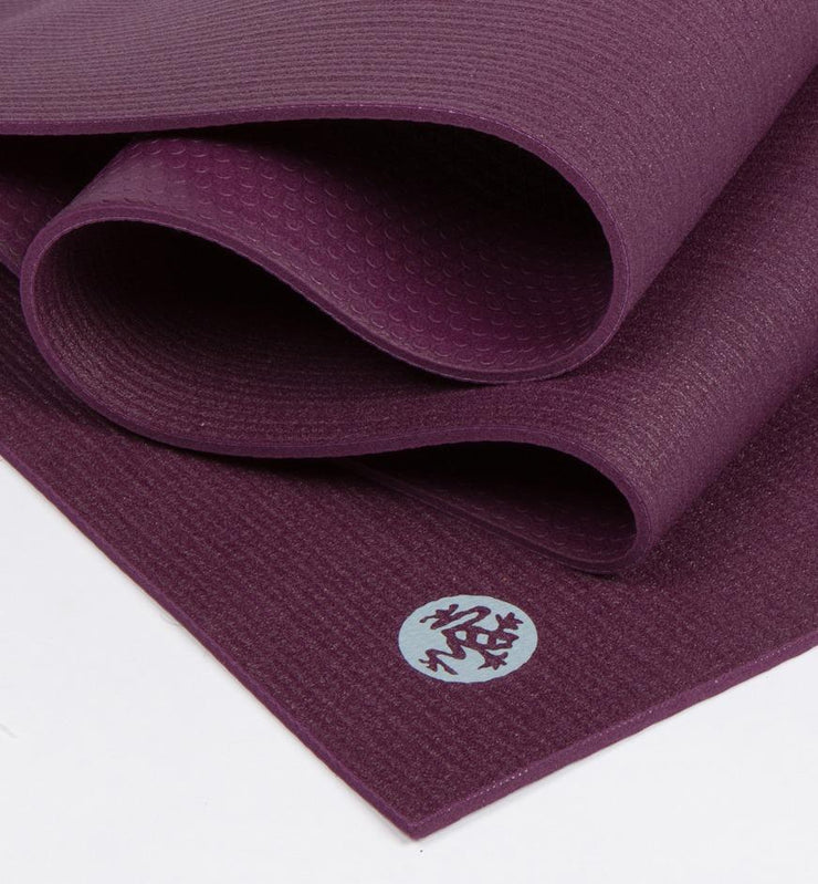 Manduka PROLite 5mm Long Yoga Mat - Indulge - folded | Eco Yoga Store