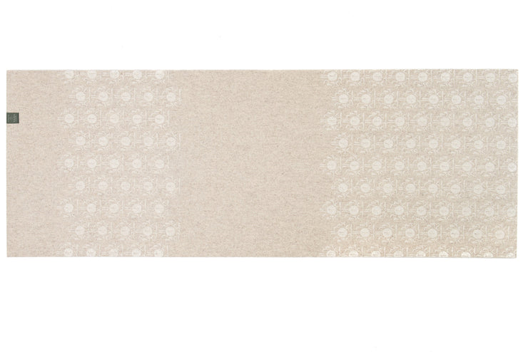 Yolana Pure NZ Wool Yoga Mat - unfurled | Eco Yoga Store
