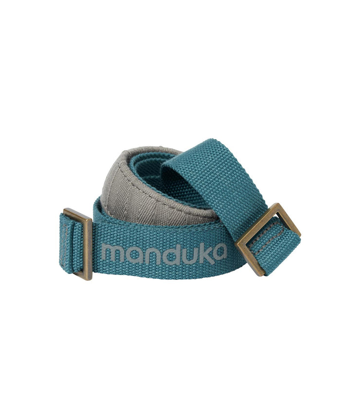 Manduka Commuter Mat Carrier - Sage - coiled | Eco Yoga Store