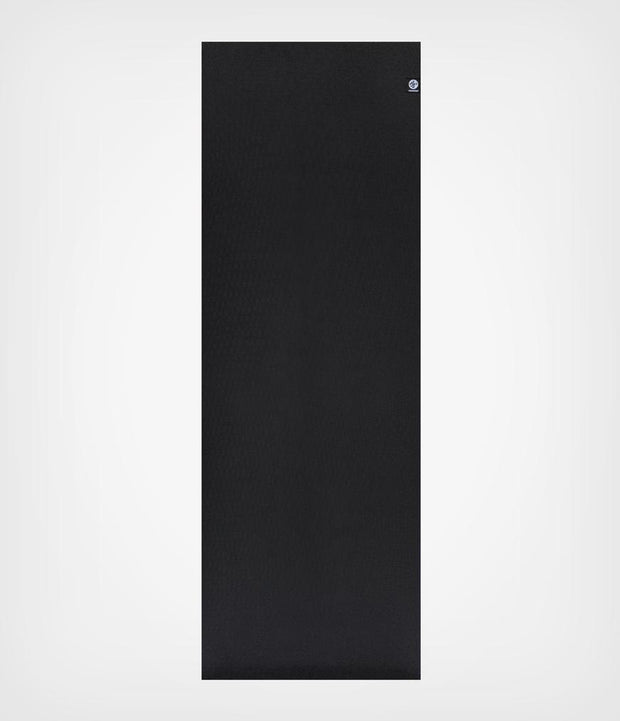 Manduka X 5mm Yoga Mat - Black - Unfurled | Eco Yoga Store