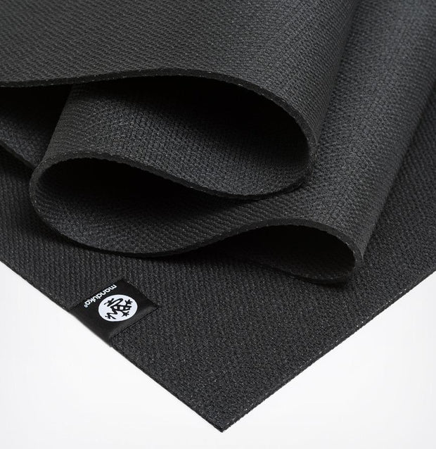 Manduka X 5mm Yoga Mat - Black - Folded