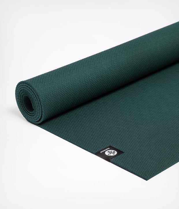 Manduka X 5mm Yoga Mat - Thrive - rolled flat | Eco Yoga Store