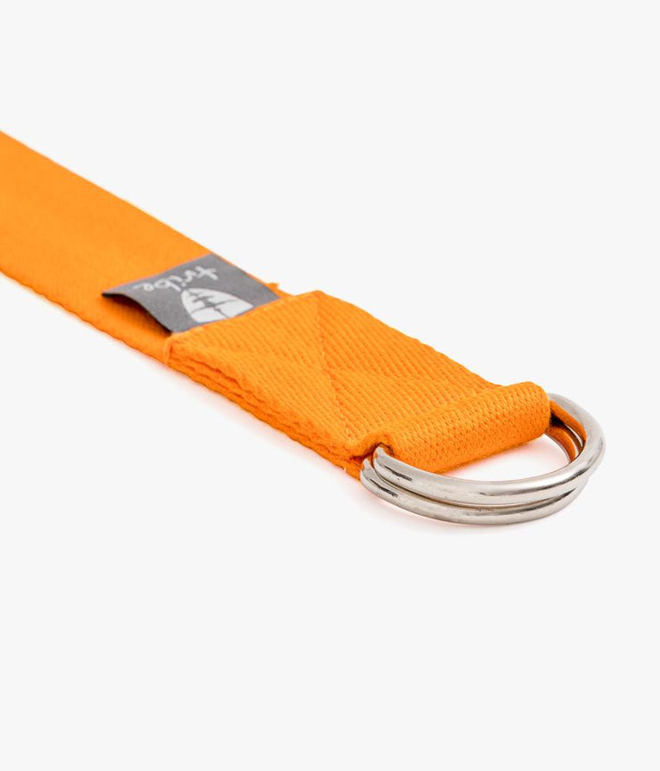 TRIBE Cotton Strap - Mandarin - D Ring | Eco Yoga Store