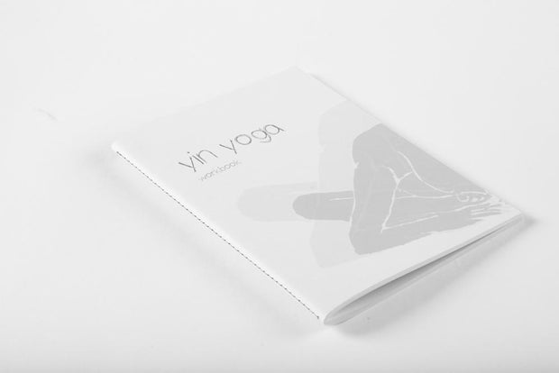 Yoga Workbook - Yin Yoga - book cover front | Eco Yoga Store